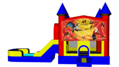 Incredibles Combo 4 in 1 Dry Bounce House