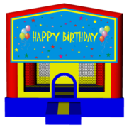 Boys Birthday 13x13 Fun House