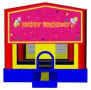 Girls Birthday 13x13 Fun House
