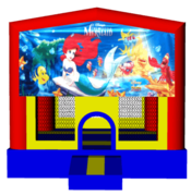 Little Mermaid 13x13 Fun House