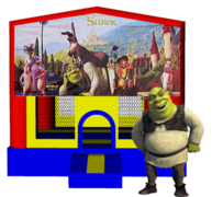 Shrek 13x13 Fun House