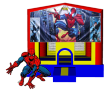 Spiderman 13x13 Fun House