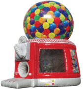 Gumball Machine Bounce House - 20 Feet Tall