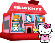 Hello Kitty 13x13 Bounce House