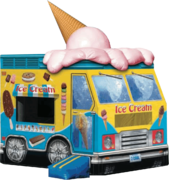 Ice Cream Truck 14x13 Bouncer