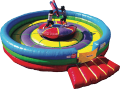 Jousting Ring Bounce House - 25ft around