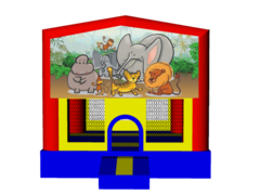 Jungle 13x13 Fun House