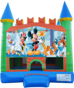 Mickey Mouse Pastel Castle 13x13 Fun House