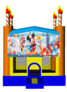 Mickey Mouse Birthday Cake 13x13 Fun House