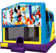 Mickey Mouse Large C4 Dry Combo with Slide & Basketball Hoop