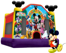Mickey Mouse 13x13 Clubhouse Bouncer