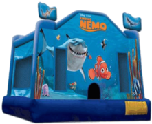 Nemo 13x13 Bounce House