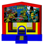 Ninja Turtles 13x13 Fun House