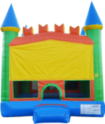 Pastel Castle 13x13 Bouncer