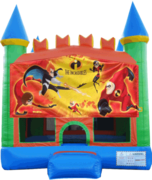 Incredibles Pastel Castle 13x13 Fun House