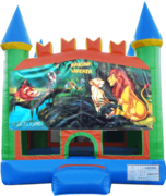 Lion King Pastel Castle 13x13 Fun House