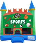 Sports Pastel Castle 13x13 Fun House
