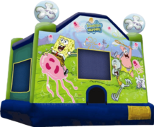 SpongeBob 13x13 Bounce House