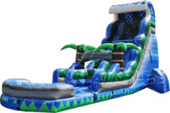 Large 18ft Tsunami Waterslide