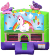 Unicorn Butterfly 13x13 Fun House
