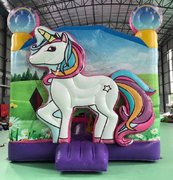 3D Unicorn 🦄 Bounce House