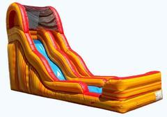 17' Flammin Slippity Slide