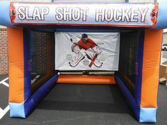 INFLATABLE SLAP SHOT HOCKEY