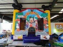 Mickey and Minnie Mouse Bounce House