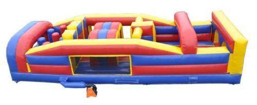 Seven Element Obstacle Course 7ft H x 31ft L x 12 ft W