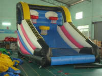 Inflatable 3 Basketball Hoops 13ft x 16ft