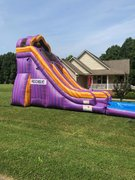 Purple People Eater 20ft. Water Slide with 12ft. Pool