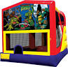 15'x15' Ninja Turtles Combo Unit