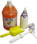Sno-Cone Supplies for 25 Sno-Cones