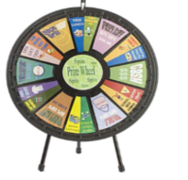 Table Top Prize Wheel
