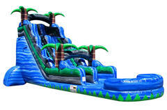 22ft Blue Crush Water Slide