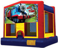 Trains Bounce House