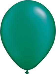 Emerald Green 11 inch latex  item 024