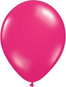 Jewel Magenta 11 inch latex  item 036