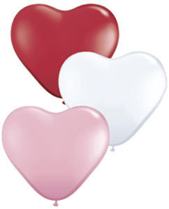 Heart Assorted 11 inch latex item 029