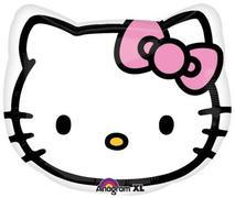 Hello Kitty Head 15  inch foil item 04