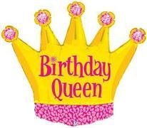B-Day Queen Foil 36 inch item 007
