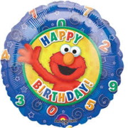 Elmo Happy Birthday 18 inch foil item 010