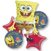 SpongeBob B-day  Bouquet foil item 051