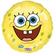 Sponge Bob Smiley Round 18 inch foil item 012