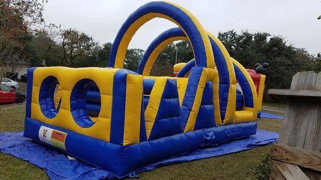 #501 Yellow Obstacle Course 20 ft