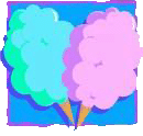 Cotton candy supply (50 per)