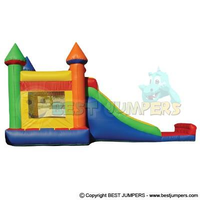 Super Slide Inflatable Combo Bouncer 2