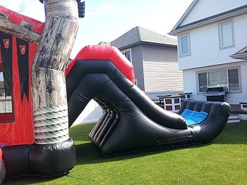 Inflatable Pirate Combo Slide for rent