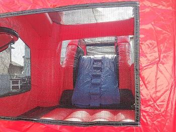 Inside the Inflatable Pirate Bouncer rental