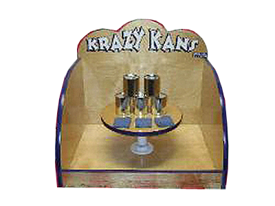 Crazy Cans Tabletop Carnival Game
